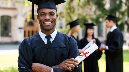 African-Black-Man-College-Graduate-Education-Diploma