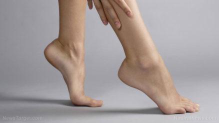 Woman-Skin-Legs-Lotion