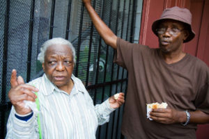 Elderly Brooklyn Woman
